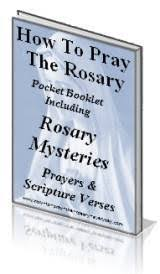 free rosary free rosary booklets to