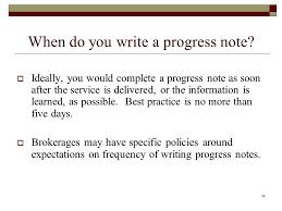 dap progress notes 100 images sle progress note template 9