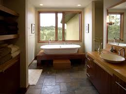 bathroom floor idea choosing bathroom flooring hgtv