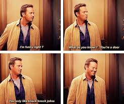 Chandler Meme - one day i hope i can be as funny as chandler bing meme guy