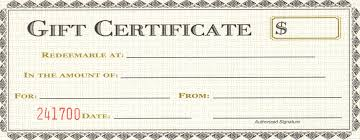8 best images of blank gift certificate template blank gift