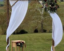 wedding arbor rental rustic wedding arbor etsy