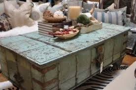 Vintage Trunk Coffee Table Distressed Trunk Coffee Table Foter