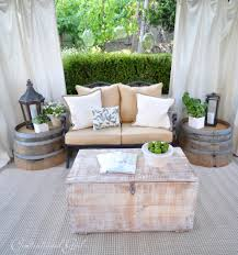 5 essentials for a cozy outdoor cabana outdoor patio furniture in a cabana from centsational girl