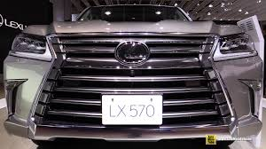 lexus lx interior 2015 2016 lexus lx570 exterior and interior walkaround debut at