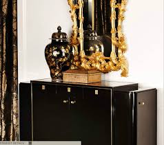 ralph lauren home one fifth collection black and gold art deco