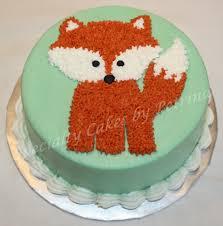 foxy fox theme smash cake