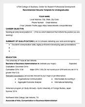 Business Resume Sample by Resume Template U2013 781 Free Samples Examples U0026 Format Download