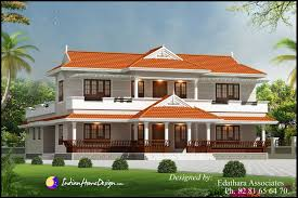 Kerala Style 2288 Sqft Villa Design Traditional Double Floor