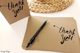 thank you card template free simplymaggie