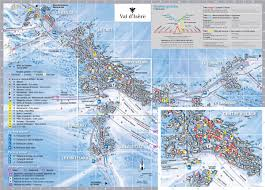 val d u0027isere piste maps and ski resort map powderbeds