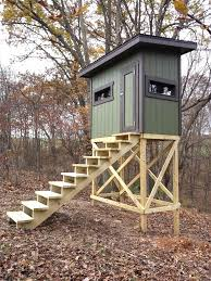 Deer Blind Plans 4x6 Shooting House Plans Evolveyourimage