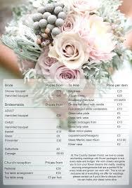 wedding flowers list wedding flowers price list wedding flower bouquet prices
