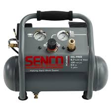senco 1 gal 1 2 hp portable pancake electric air compressor