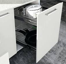 meuble cuisine 30 cm rangement coulissant meuble cuisine rangement coulissant amorti