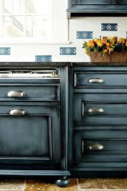 Painting Kitchen Cabinets Blue 107 Best Kitchen Cabinet Finishes Images On Pinterest Kitchen