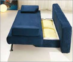 European Sofa Bed Design Modern Sofa Bed In Vibrant Blue Finish 33ss163