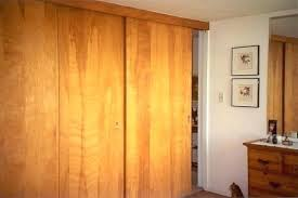 Sliding Closet Doors Wood Wood Closet Doors Horseshoe Bypass Sliding Barn Wood Closet Door