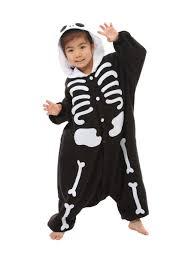 skeleton kigurumi for kids