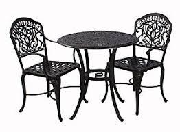 Tuscany Outdoor Furniture by Hanamint Tuscany 3 Piece Bistro Set Patio Christysports Com