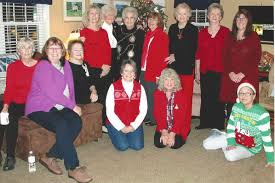 cwf women enjoy annual christmas party bethany christian church