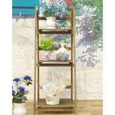 china garden wooden 3 tier flower plant stand which used to