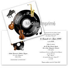 faire part mariage musique faire part thème musique sur decorations pour mon mariage fr
