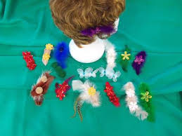 barretts hair beautiful hair bows barretts and bands for the fashionista