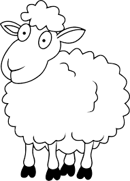 shaun the sheep cartoon coloring pages for kids printable free