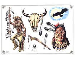 Indian Art Tattoo Designs Red Indians Tattoos Art Tattoos Art