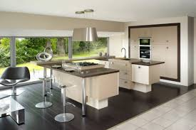 modele de cuisine avec ilot modele de cuisine avec ilot central mineral bio