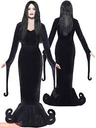 Ebay Halloween Costumes Adults Mens Ladies Gomez Morticia Couples Costume Halloween Fancy