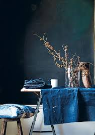 Home Interior Denim Days In The Mood For Colour Hans Blomquist Lobster And Swan