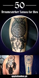 tattoos for guys on arm dreamcatcher tattoos for men ideas and inspirations for guys