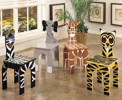 kids animal table and chairs animal chairs for children