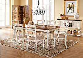 rooms to go dining room sets shop for a home heatherwoods bisque 5 pc leg dining