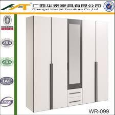 5 Door Wardrobe Bedroom Furniture White 5 Door Wardrobe White U0026 Dark Grey Storage Bedroom Set