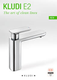 kludi e2 the art of clean lines kludi pdf catalogues