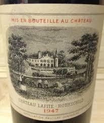 learn about chateau lafite rothschild 1947 château lafite rothschild bordeaux médoc pauillac