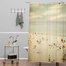 Adirondack Shower Curtain by Deny Designs Shannon Clark Vintage Beach Shower Curtain U0026 Reviews