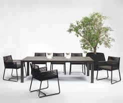 kettal landscape dining table couture outdoor