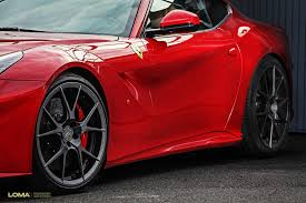 f12 berlinetta wheels loma forged concave wheels
