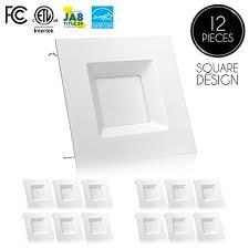 Square Recessed Ceiling Light Fixtures Retrofit Led Recessed Lights Square