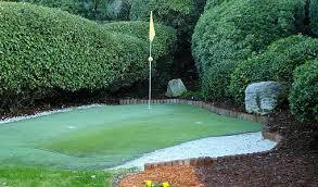 backyard putting green today u0027s homeowner