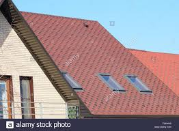 roof gables u0026 a house with a roof made of metal sheets the house