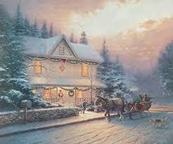 432 best kinkade images on kinkade paintings