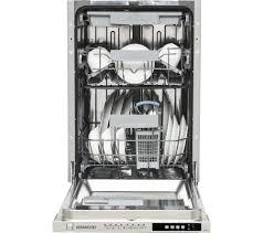 kenwood kid45s16 slimline integrated dishwasher ebay
