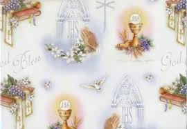 communion gift god bless communion gift wrap 27 x 39 f c ziegler