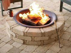 Gas Fire Pit Logs by Fire Pit Curved Bench Seating Brings You Closer To The Fire On
