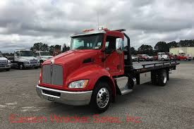 car carrier truck 2018 kenworth t270 with jerr dan 22 u0027 steel 6 ton low profile car